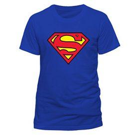 camisas con logos de superhéroes