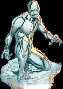 hombre de hielo volando,superhéroes mas poderosos de Marvel