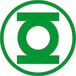 logo de linterna verde con fondo blanco