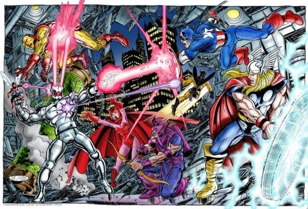 distintos tipos de superheroes y sus poderes