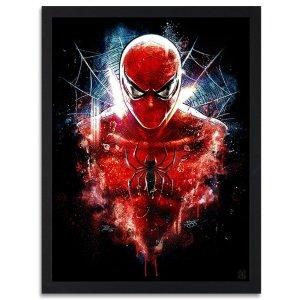 cuadros de superheroes
