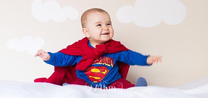ropa de superheroes para bebes